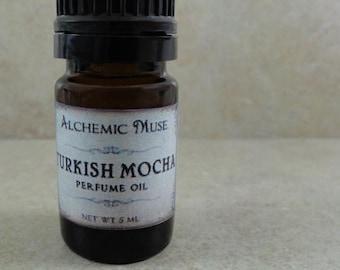 Turkish Mocha - Perfume Oil - Turkish Coffee, Marshmallow, Hazelnut, Cocoa Absolute - Holiday Fantastique Collection