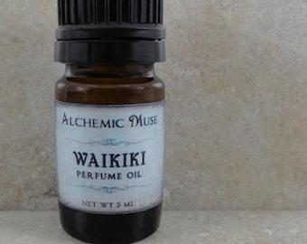 Waikiki - Perfume Oil - Island Lime, Fresh Coconut, Summer Sunshine - Limited Edition