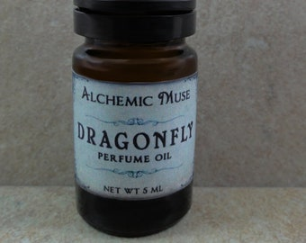 Dragonfly - Perfume Oil - Green Moss, Dampened Earth, Bay Rum - Springtime Collection