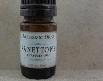 Panettone - Perfume Oil - Cranberries, Walnuts, Golden Cake - Holiday Fantastique Collection