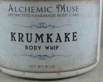 Krumkake - Body Whip - Gingerbread, Spice, Cream - Holiday Fantastique Collection