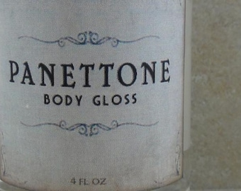 Panettone - Body Gloss - Cranberries, Walnuts, Golden Cake - Holiday Fantastique Collection