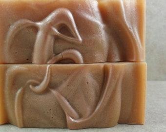 Pumpkin Bourbon - Handmade Soap - Fresh Pumpkin Puree, Aged Bourbon, Dark Rum