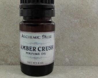 Amber Crush - Perfume Oil - Amber Resins, Patchouli, Bourbon Vanilla