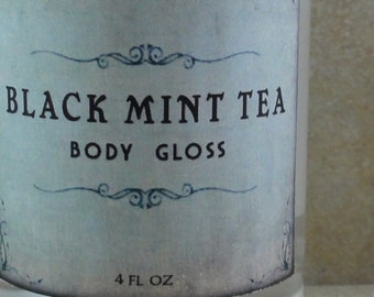 Black Mint Tea - Body Gloss - Limited Edition