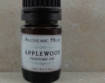 Applewood - Perfume Oil - Orchard Apple, Buttery Caramel, Smoky Vanilla - Winter Collection