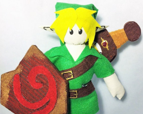Young Hero - Plushie - Art Doll