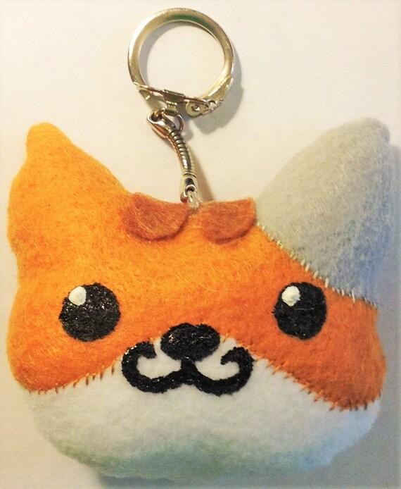 Cat - Kitty - Kitten - Plushie - Keychain - Dumpling