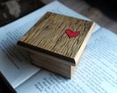 LIttle Woodburned Box - Faux Bois