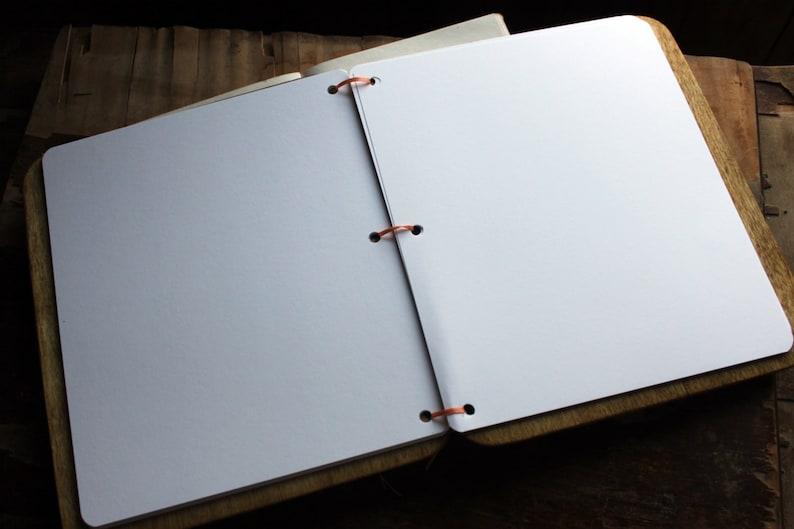Rustic Guestbook Wood Guest Book Wedding Album Gift for Couple Custom Guest Book Wedding Guest Book Wedding Gift Wedding Guestbook