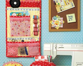 PATTERN GOING GLAMPING Travel Trailer Camper Sewing Room Storage Organizer Storage Box and Pincushion   We combine shipping