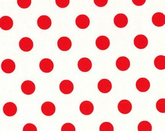 Clearance FABRIC DOTTY LOVE Valentine's Day  by Michael Miller 1/2 Yard