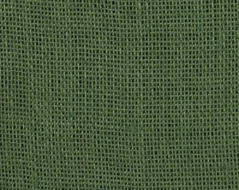 Clearance 1 Yard 50% off as marked BURLAP PINEY WOODS Primitive Christmas Hunter Khaki Green color Shalimar burlap Fabric