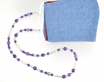 Multi-purpose Necklace - Mask Leash - Eyeglass Leash - Beaded necklace - Mask Lanyard - Glasses Lanyard- Glasses Chains