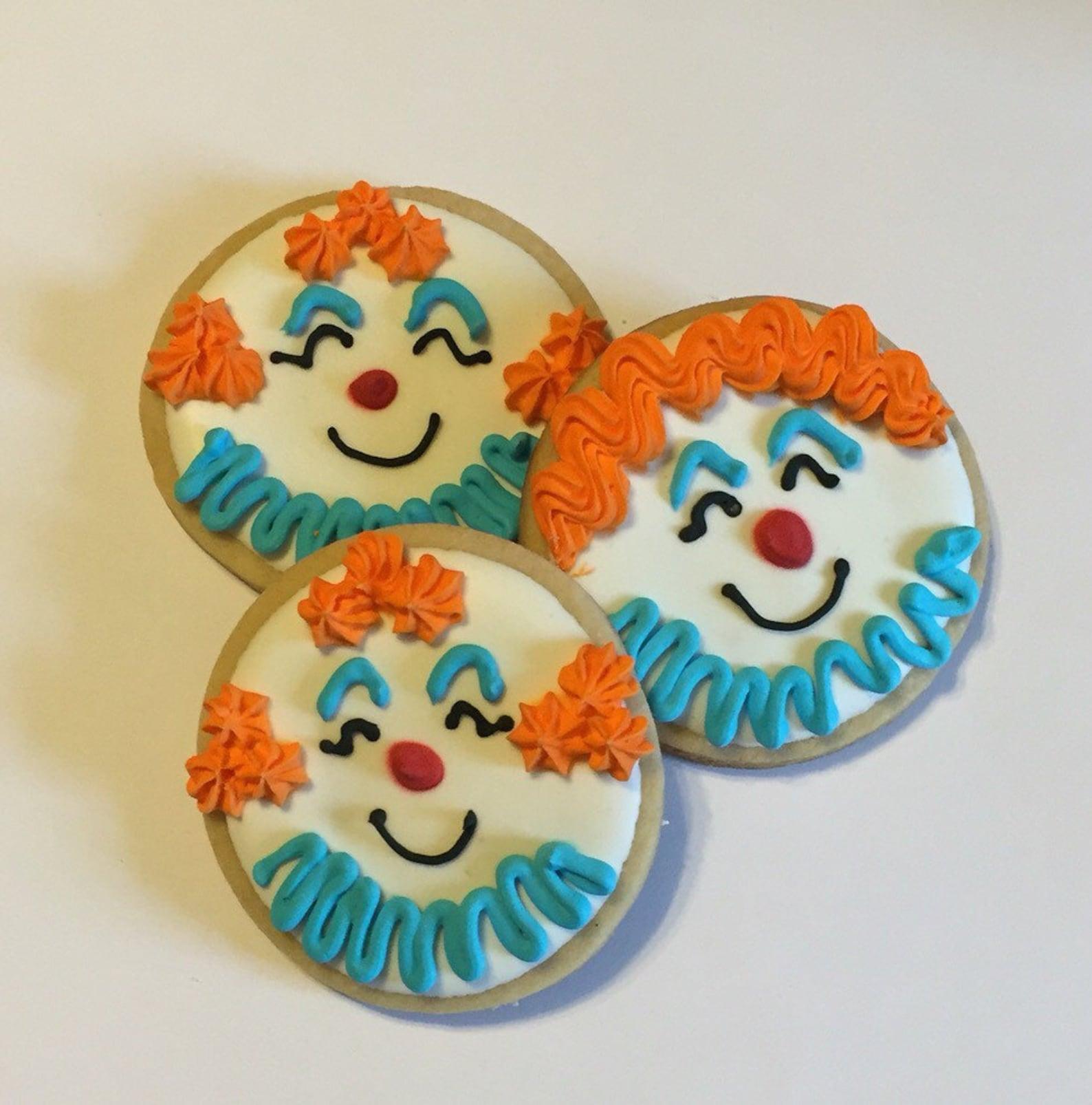 Clown Sugar Cookies