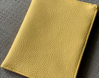 Vinyl & Oil Cloth Passport Wallet