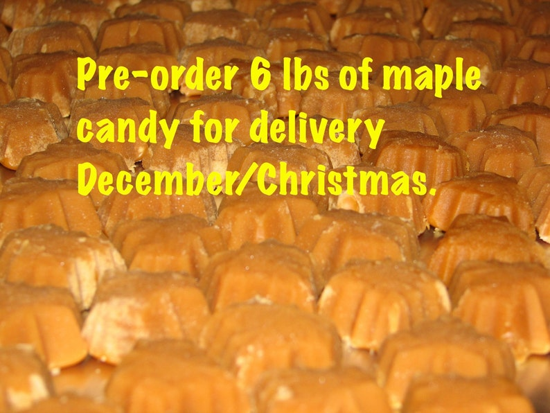 FREE SHIPPING PREORDER 6 lbs of Pure Vermont Maple Syrup to be image 0