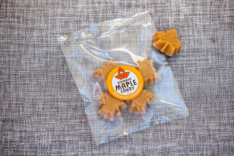 Individual Package of 100% Pure Maple Candy Paleo Gluten Free image 0