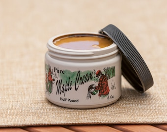 1/2 lb. Pure Vermont Maple Cream with FREE SHIPPING