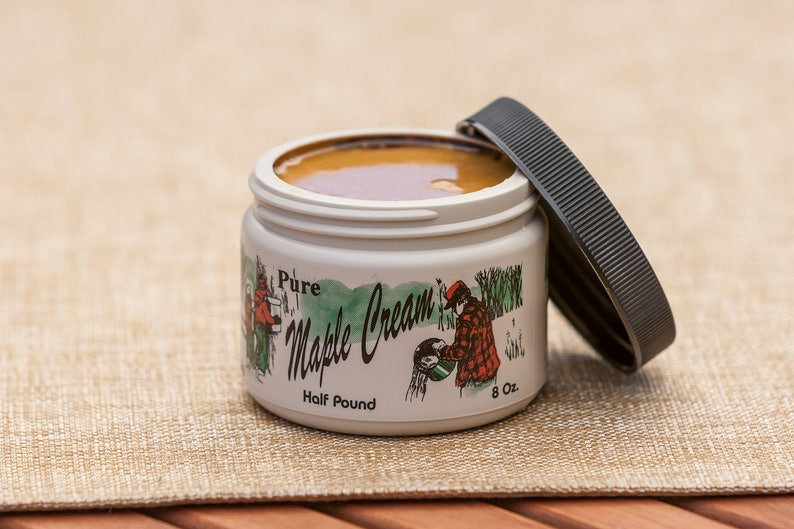 1/2 lb. Pure Vermont Maple Cream with FREE SHIPPING image 0