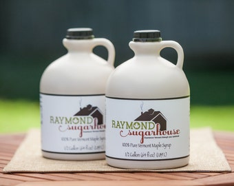 100 Percent Pure Vermont Maple Syrup 1 Gallon made in 2021 Help the Alzheimer's Association