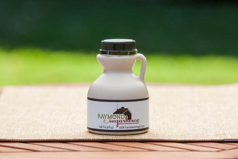 2019 1/2 Pint Pure Vermont Maple Syrup Naturally Organic image 0