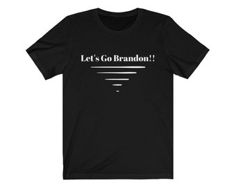Let's Go Brandon Unisex Jersey Short Sleeve T-Shirt / Cotton T-Shirt