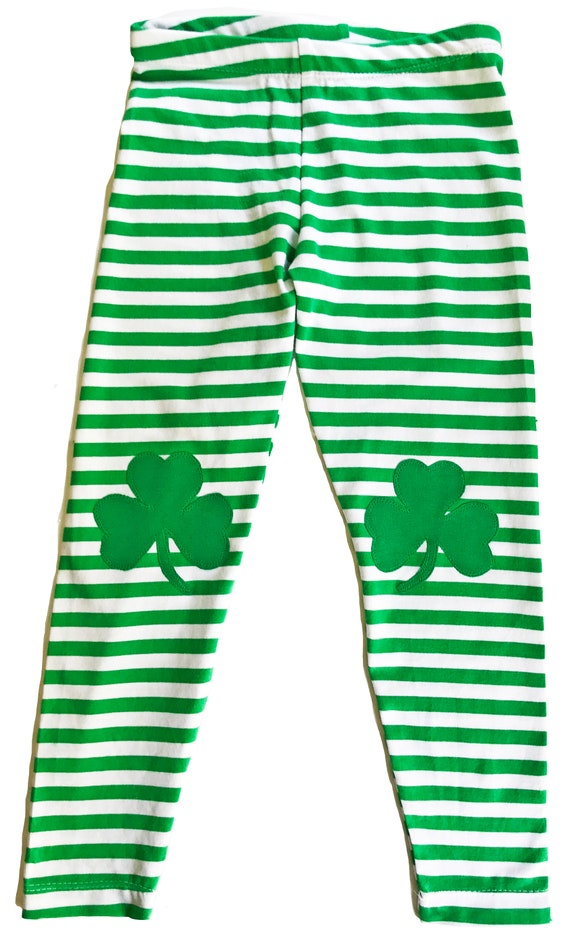 Never-Cold Italian Irish American Shamrock Kids Boys Cotton Sweatpants Elastic Waist Pants for 2T-6T