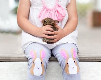 Bunny Leggings, Kids Rabbit Leggings