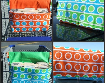 Coupon Holder Purse Organizer Summer Dots Fabric
