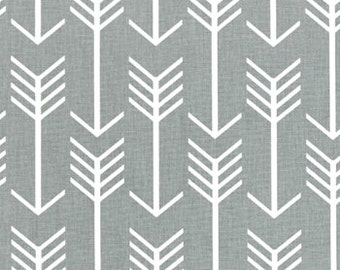 Arrow Cool Gray Cotton Fabric for Premier Prints - 1 yard
