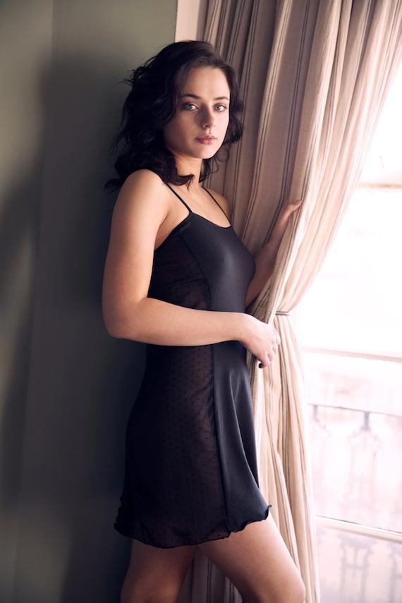 organic nightgown see Nightdress Lingerie negligee through Sexy Nightie slip Sheer size pajamas plus pyjama Underwear Lace ffwxt8qzn