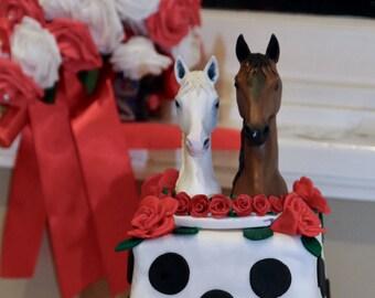 HORSE Wedding Cake Topper Dog Cat Pet Animal