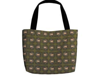 Tote Bag TV Collage Art Hobo Bag Psychedelic Art Handbag Slouchy Tote Bag  Canvas Faces Printed Purse Shoulder Bag Gift Set MATCHING WRISTLET 5363d0a1e8158