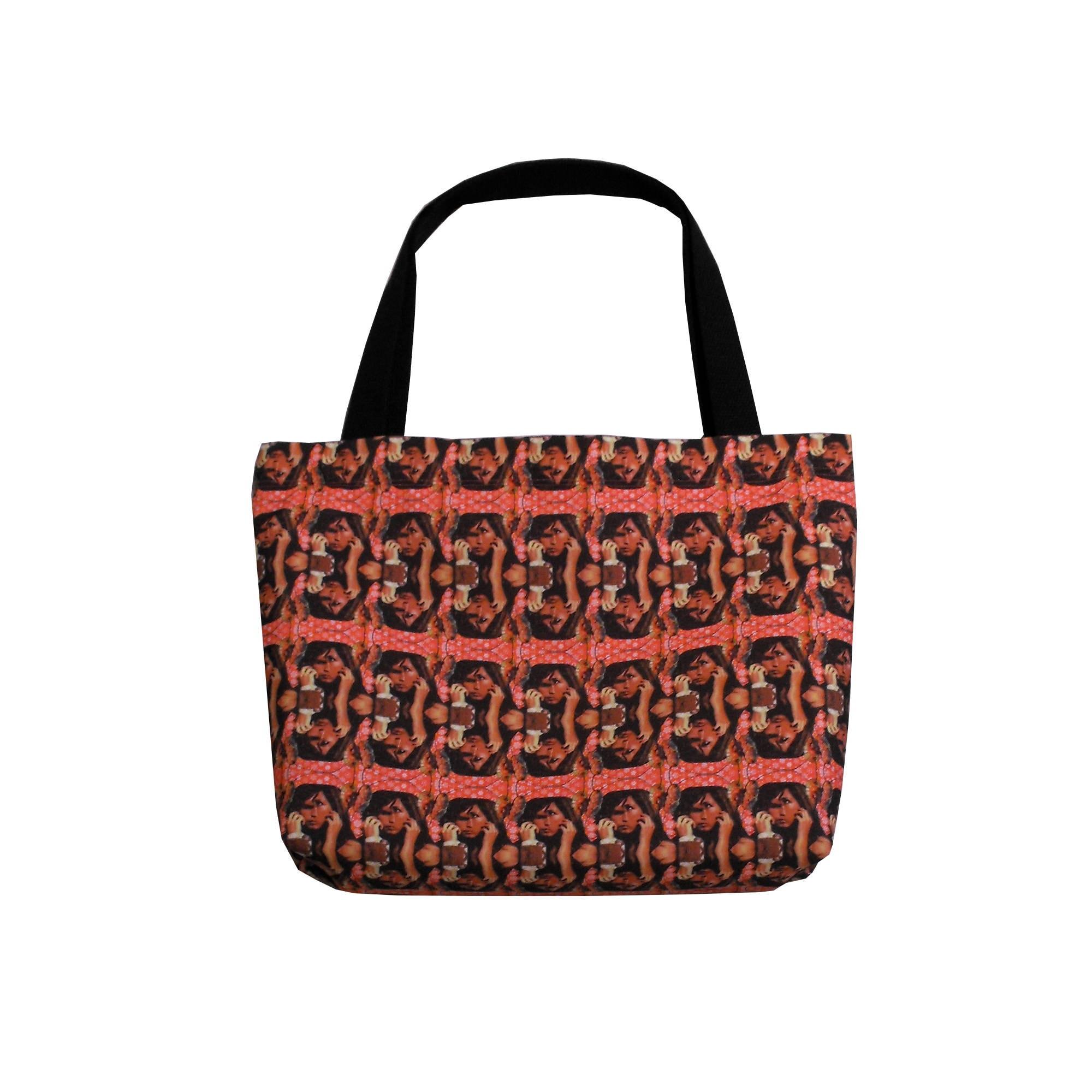 Psychedelic Art Handbag Slouchy Tote Bag Hobo Bag Canvas Tote  9d9c6488fcd5d