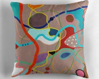 Pillow,Country Pillow,Men Pillow,Floor Pillow,Bed Pillow,Boy Art Pillow - The Road