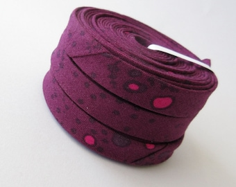 Bias Tape - 1/2 inch Double Fold - Grove in Dusk - 3 yards