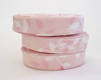 1/2 inch Double Fold Bias Tape - Pink Michael Miller  - 3 yards