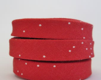 1/2 inch Double Fold Bias Tape - Cotton + Steel - 3 yards