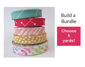 Double Fold Bias Tape Custom Bundle