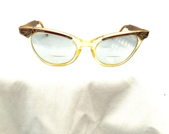 8b5a67f83cc9 Vintage cat eye glasses frames