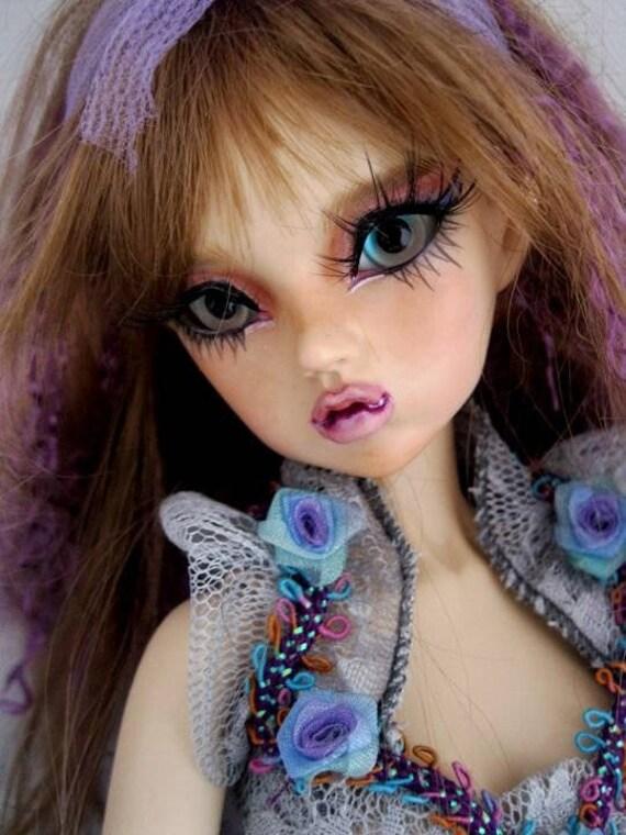 BJD 1//8 Mini Doll dolls little fairy Iris no make up bare doll