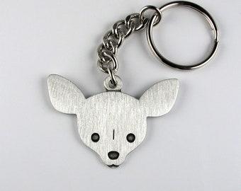 Chihuahua Keychain Etsy