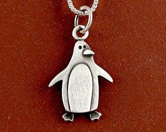 Penguin necklace / pendant