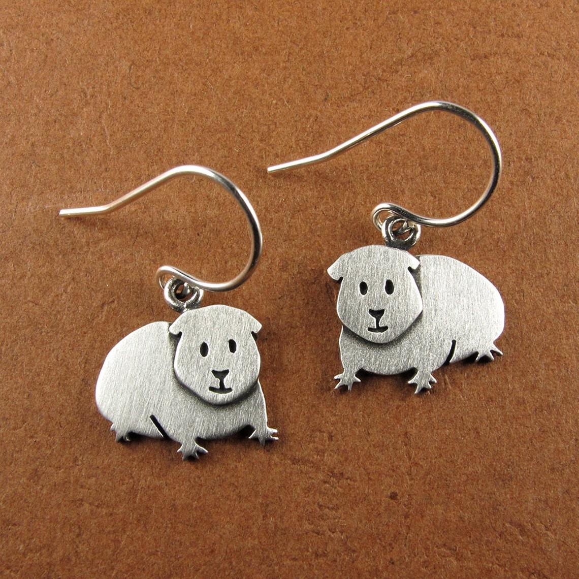Guinea pig earrings