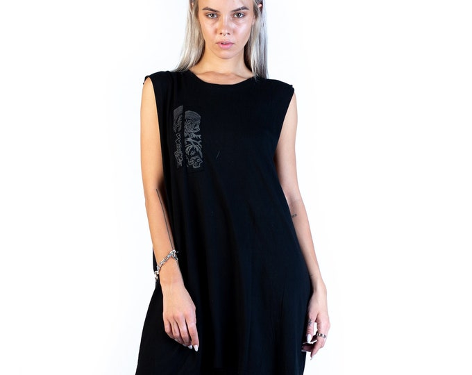 Featured listing image: Alchemy Dark Charcoal Unisex Oversized Tank