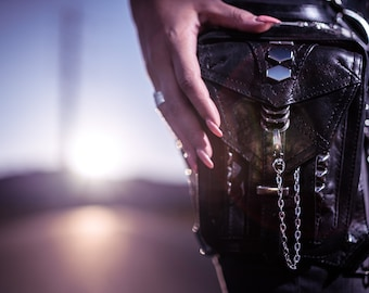PENNY ROCKER Leather Holster and Hip Bag Utility Belt