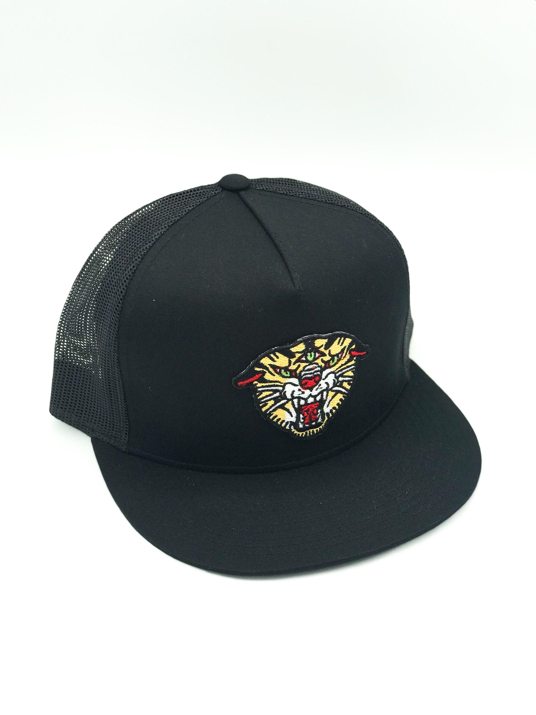 THIRD EYE TIGER Black Trucker Hat  b45e5895b858