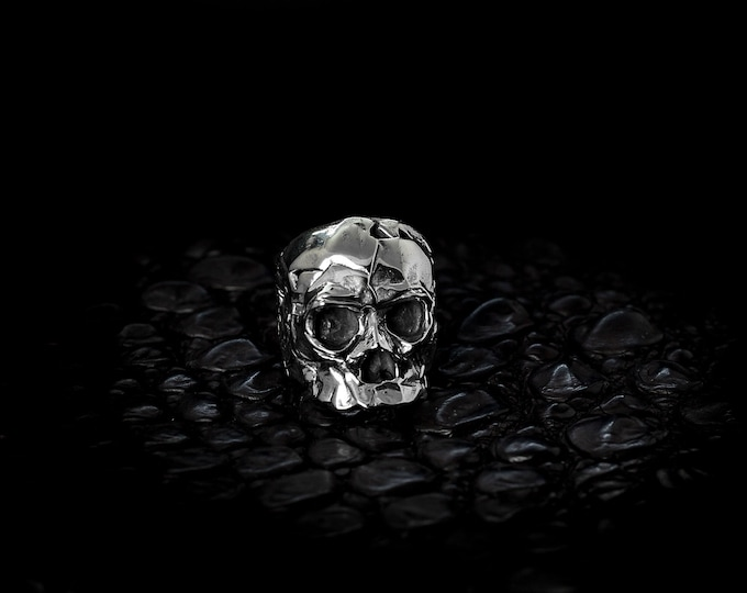 Featured listing image: Silver Skull Statement Ring