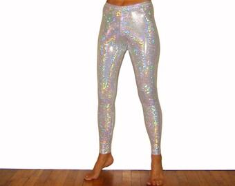 Glittery Personalised children/'s leggings